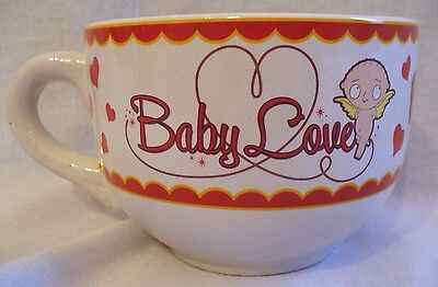 Family Guy Baby Love Stewie Cupid Valentine's Coffee Cup Mug
