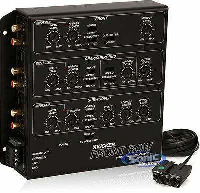 NEW! Kicker Front Row ZXDSP1 6-Channel Digital Signal Processor