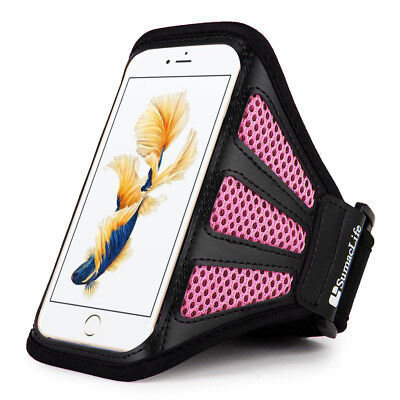 Black Sports Armband Outdoor Running Gym Pouch For iphone 6s Plus  /  7 Plus