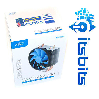 Deepcool Gammaxx 300 Cpu Heatsink Cooler Intel 1150 1151 1155 1156 & Amd Fm2 Am3
