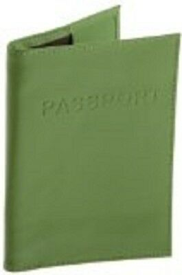Belle Hop Genuine Leather Passport Case Green New Item Free Shipping