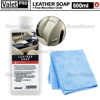 ValetPRO All Car / Home Leather Fresh Look Soap Cleaner and Protecter 500ml