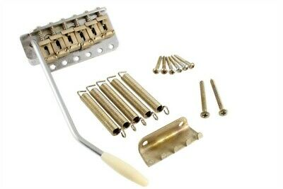 NEW - Gotoh GE101TS Vintage Style Tremolo, Steel Block - AGED CHROME