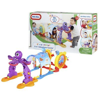 # Little Tikes Spielcenter Play Activity Baby Spieltunnel Spielbogen Spielzeug