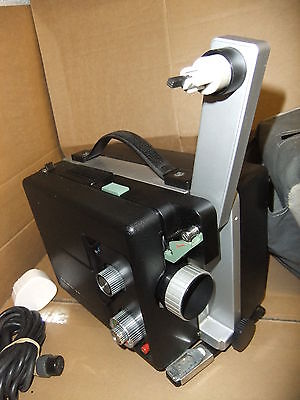 Cine film projector ELMO VP-D100 super 8 with lead needs belt & bulb