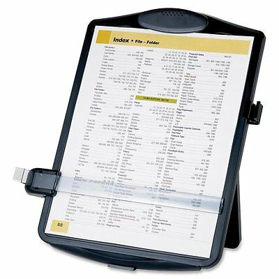 Easel Document Holders, Adjustable, 10 x 2 x 14 Inches, Black, New