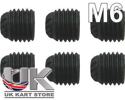 Axle Bearing Grub Screw M6 / 6mm x 6 TonyKart OTK Compkart CRG UK KART STORE