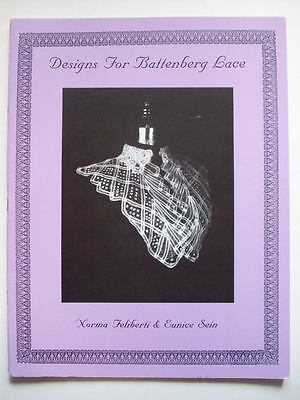 Designs for Battenberg lace. Basic instructions and patterns for Collars cuffs