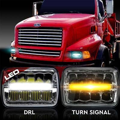 LED Headlamps Headlights for Western Star Semi Truck Commercial Truck 4700