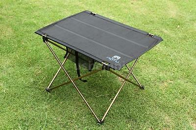 Foldable Folding Table Desk Camping Outdoor Picnic Aluminium Portable UK A7M4