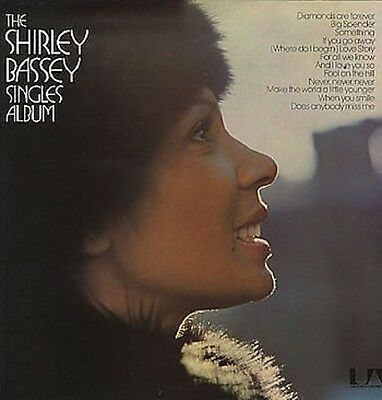 The Shirley Bassey Singles Album  UK Vinyl LP Record EXCELLENT CONDITION