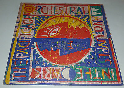 Orchestral Manoeuvres in the Dark (OMD) - The Pacific age  UK VINYL LP