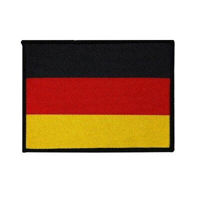 Germany Country Flag Patch National Travel German Badge Woven Sew On Applique