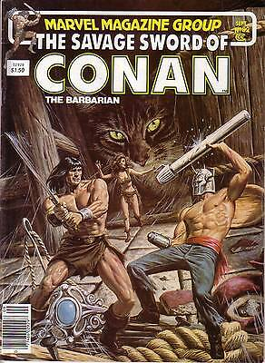 CONAN THE BARBARIAN #92 Sept. 1983 Marvel comic magazine ᵗ U1