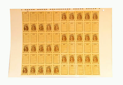 and More RARE 1992 Fathers of Baseball UNCUT Sheet 60 Cards Doubleday Spalding