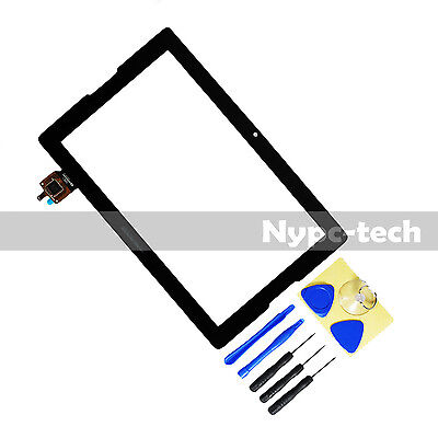 "OEM Digitizer Touch Front Screen Glass For Lenovo A10-70 A7600-F 10.1"" w/ Tool"