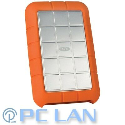 LaCie 1TB Rugged Triple USB 3.0 Firewire 800 Portable Hard Drive STEU1000400
