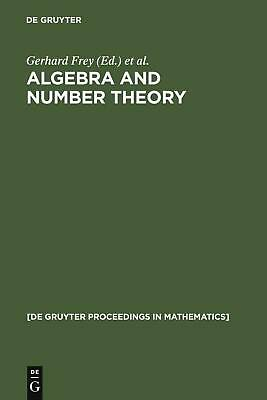 NEW Algebra and Number Theory by Hardcover Book (English) Free Shipping