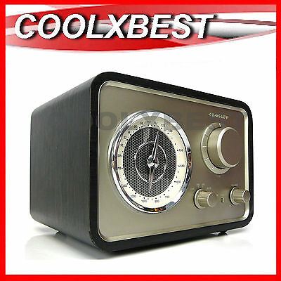 NEW CROSLEY SOLO AroundSound® RADIO w AUX IN iPOD iPHONE MP3 VINTAGE RETRO