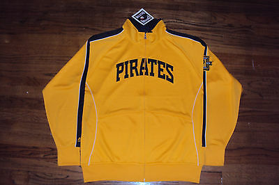 Pittsburgh Pirates New Mlb Majestic Cooperstown Profector Jacket