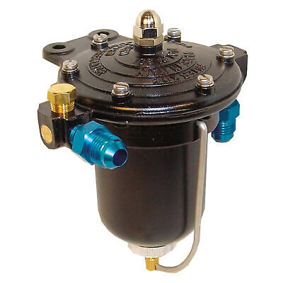 Malpassi High Flow Filter King Fuel Pressure Regulator And Filter -6 JIC Male