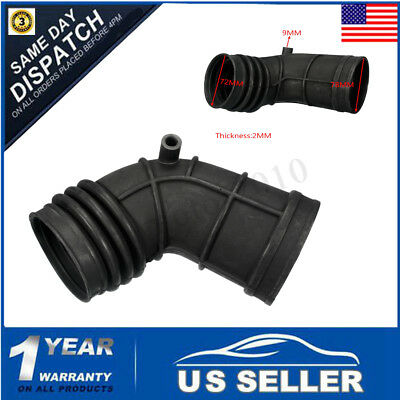 Air Intake Hose Tube Flow Mass Boot Throttle Pipe Rubber For BMW E46