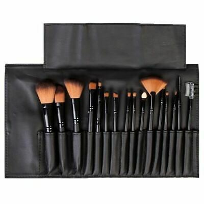 LaRoc 16 Pieces Makeup Brush Cosmetic Set Kit Eyeshadow Foundation Powder