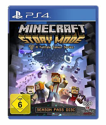 Minecraft - Story Mode      PS4      Playstation 4       !!!!! NEU+OVP !!!!!