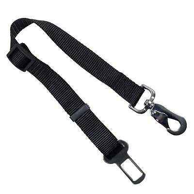 Dog Pet Car Safety Seat Belt Harness Restraint Adjustable Lead Leash Travel Clip