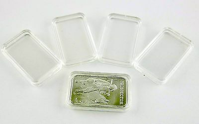 5 1oz airtite capsules silver bar 1 oz bullion