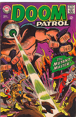 Doom Patrol #115 - Vs First Atomic Age Mutants! - 1967 (Grade 6.0) WH