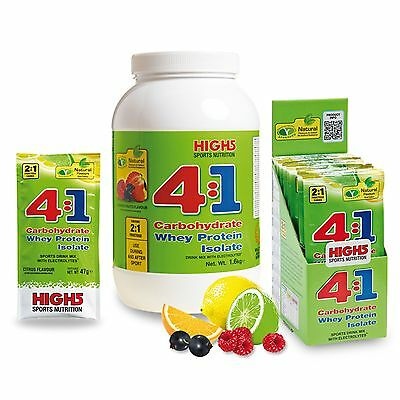 High5 Energy Source 4:1 Sports Nutrition Whey Protein Powder Mix - Gym/Cycling