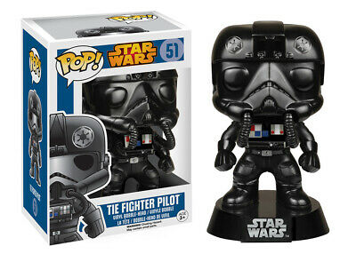 Classic Star Wars Tie-Fighter Pilot Vinyl POP! Figure Toy #51 FUNKO NEW MIB