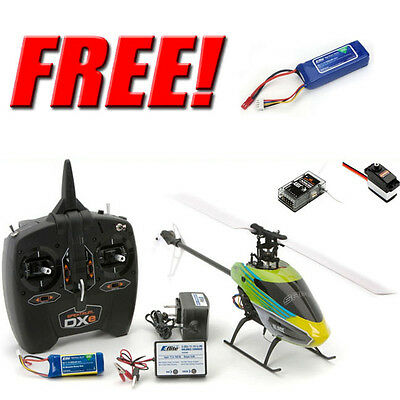 Blade BLH1500 230 S RTF Aerobatic Helicopter w/ DXe + Free Extra E-Flite Battery