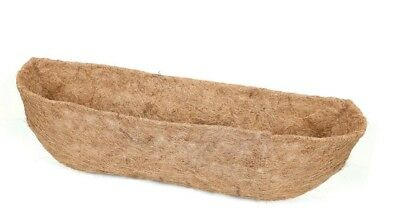 "24"" (60cm) Natural Co-Co Liners for Window Box or Wall Trough"