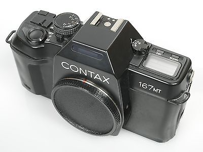 CONTAX 167MT body voll funktionsf. Zustand fully working
