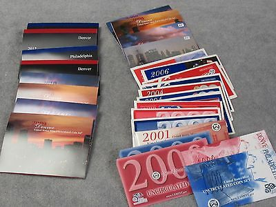 1999-2012 Mint Sets In Original Mint Packages-Free Shipping