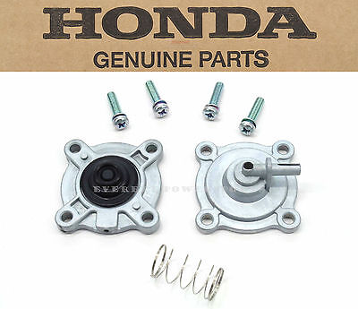 Fuel Gas Valve Petcock Diaphragm Cover Set CB600 F VT750 Shadow VTX1300 #H79