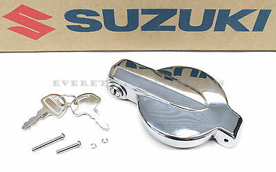 New Suzuki Locking Fuel Tank Gas Cap GT380 TS400 GT500 GT550 GT750 GT250 #H81