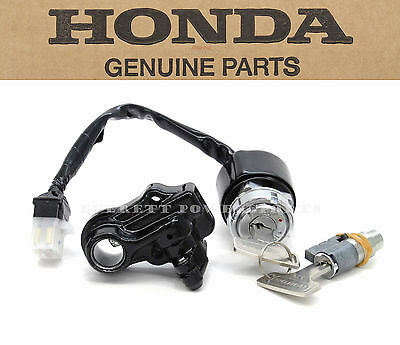 Genuine Honda Ignition Key Switch Lock Set CB CL 200-750 OEM (See Notes) #Y61