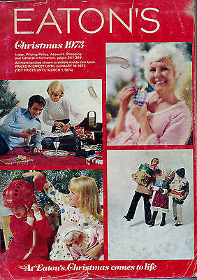 1973 Eatons  Christmas Catalog Wishbook