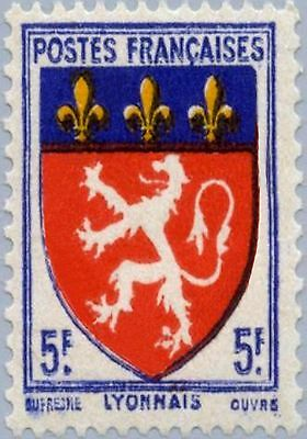 PHOTO MAGNET France Arms of NIORT 1964 issue 1c