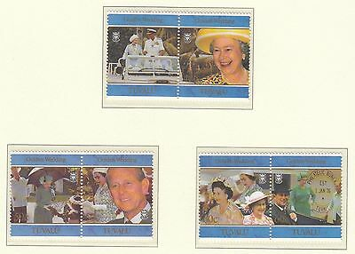 (74675) Tuvalu MNH Queen Golden Wedding unmounted mint 1997