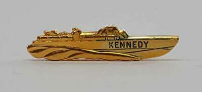 Iconic John F. Kennedy PT109 Presidential Gift Tie Bar FREE SHIPPING In USA