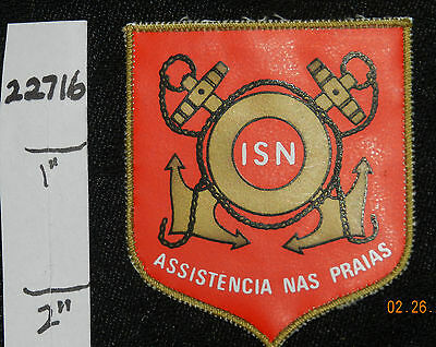 Portugal, Beach Assistance Life Saving Rescue Small Patch