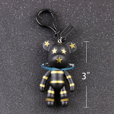 1pcs Free Shippingping Fashion Retro Creative Gift Bear Bag Pendant Keychian Key