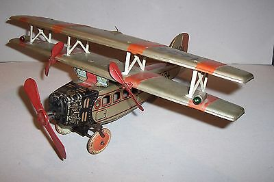 MS-TOYS ! Tipp & Co TCO Biplane Doppeldecker 1424