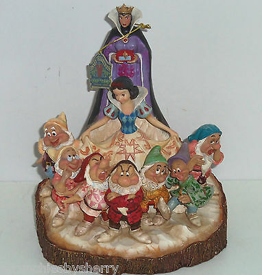 Disney Snow White Seven Dwarfs The One That Started Them All Queen Jim Shore