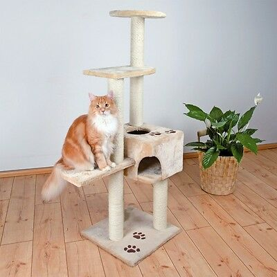 Trixie Alicante Cat Activity Centre Beige 142 cm For Cats & Kittens