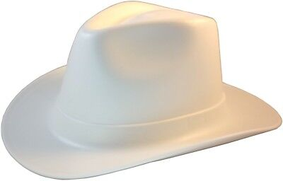 f8b1d1077d348 Occunomix Vulcan Series Cowboy Style Hard Hat w  Ratchet Suspension - WHITE